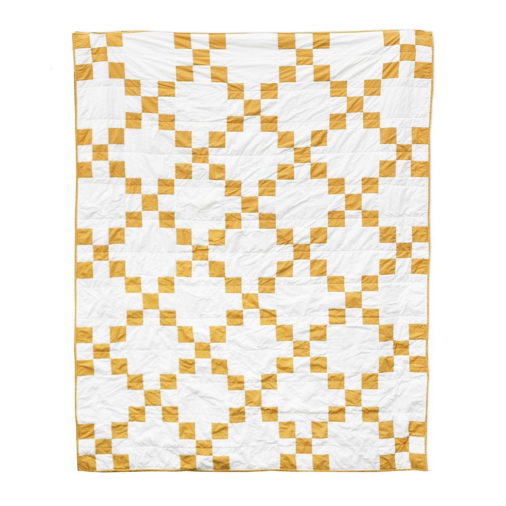 Irish Chain Quilt Pattern Custom Decoration