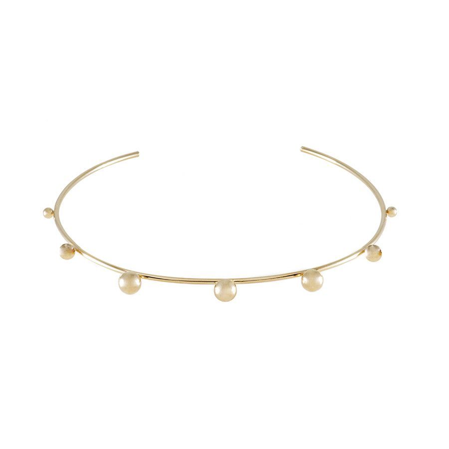 Ring In Gold Choker