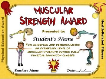 fitness certificates