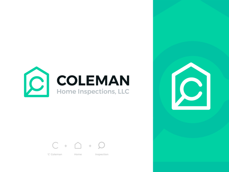 Coleman Home Inspections Final Logo In 2020 Home Inspection Logos Inspect