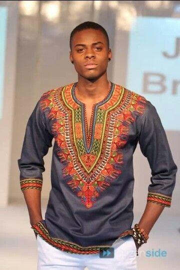 African Clothing for men Dashiki 6YvNckD