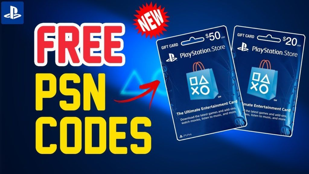 Free Psn Codes Generator Ps4 Gift Card Xbox Gifts Playstation