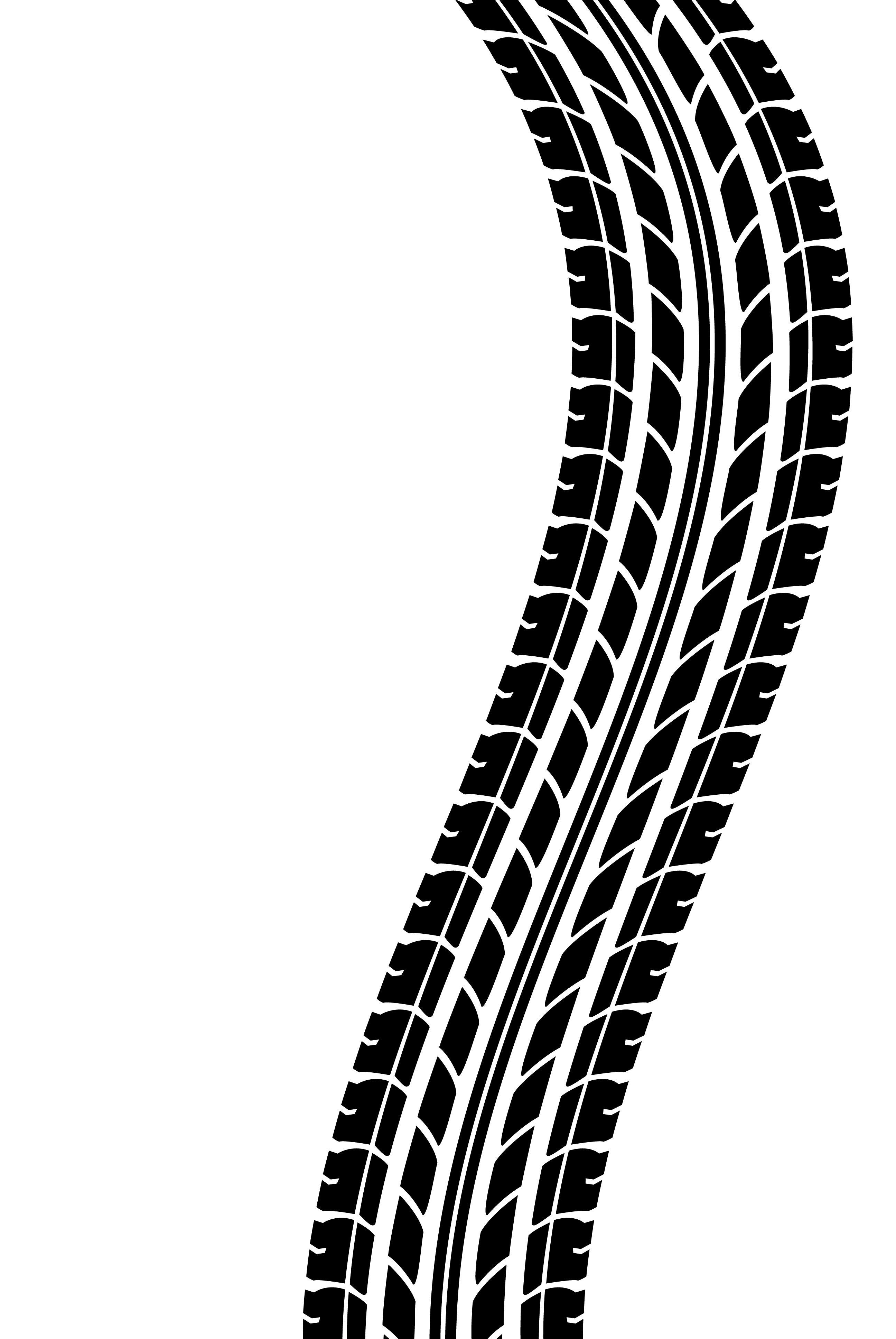 Resultado De Imagen Para Motorcycle Tire Track Vector