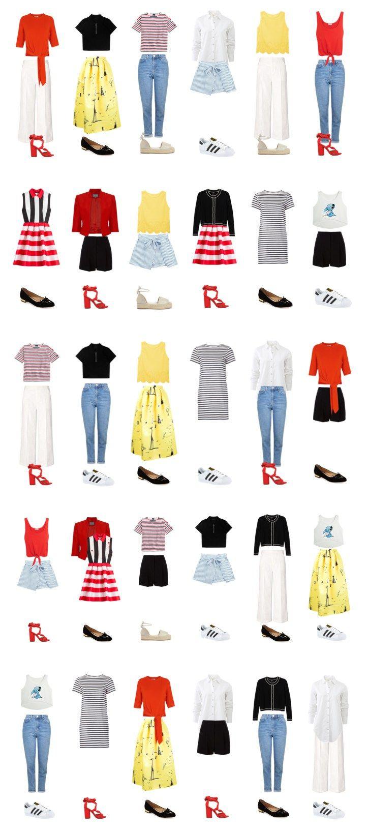 Капсульный гардероб на лето: 30 образов из 20 вещей на www.wearnissage.com / Capsule wardrobe for summer: 20 pieces - 30 outfits on www.wearnissage.com #capsulewardrobe #summer #summerwardrobe #20pieceswardrobe #style #classic #капсульныйгардероб #стиль #outfits #мода  #шопинг #советыстилиста #wearnissage #летнийгардероб #чтоноситьлетом #капсуланалето #капсула #summercapsule #minimal