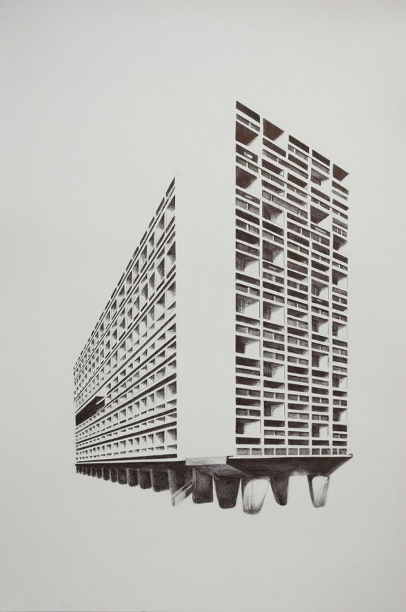 The Grid 2 Le Corbusier Unite D Habitation 1946 52 2011 Le