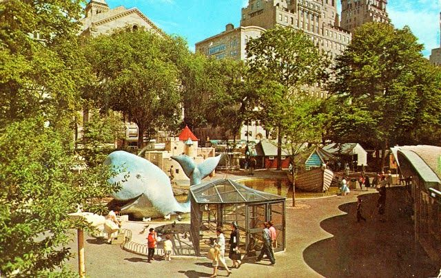 The Old Central Park Children S Zoo Circa 1960s 1980s Vacations In The Us Central Park Family Summer Vacation