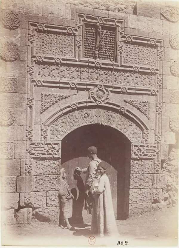 واجهة احد بيوت مصر القديمه اواخر القرن ١٩ Reem Old Egypt Egypt Cairo Egypt