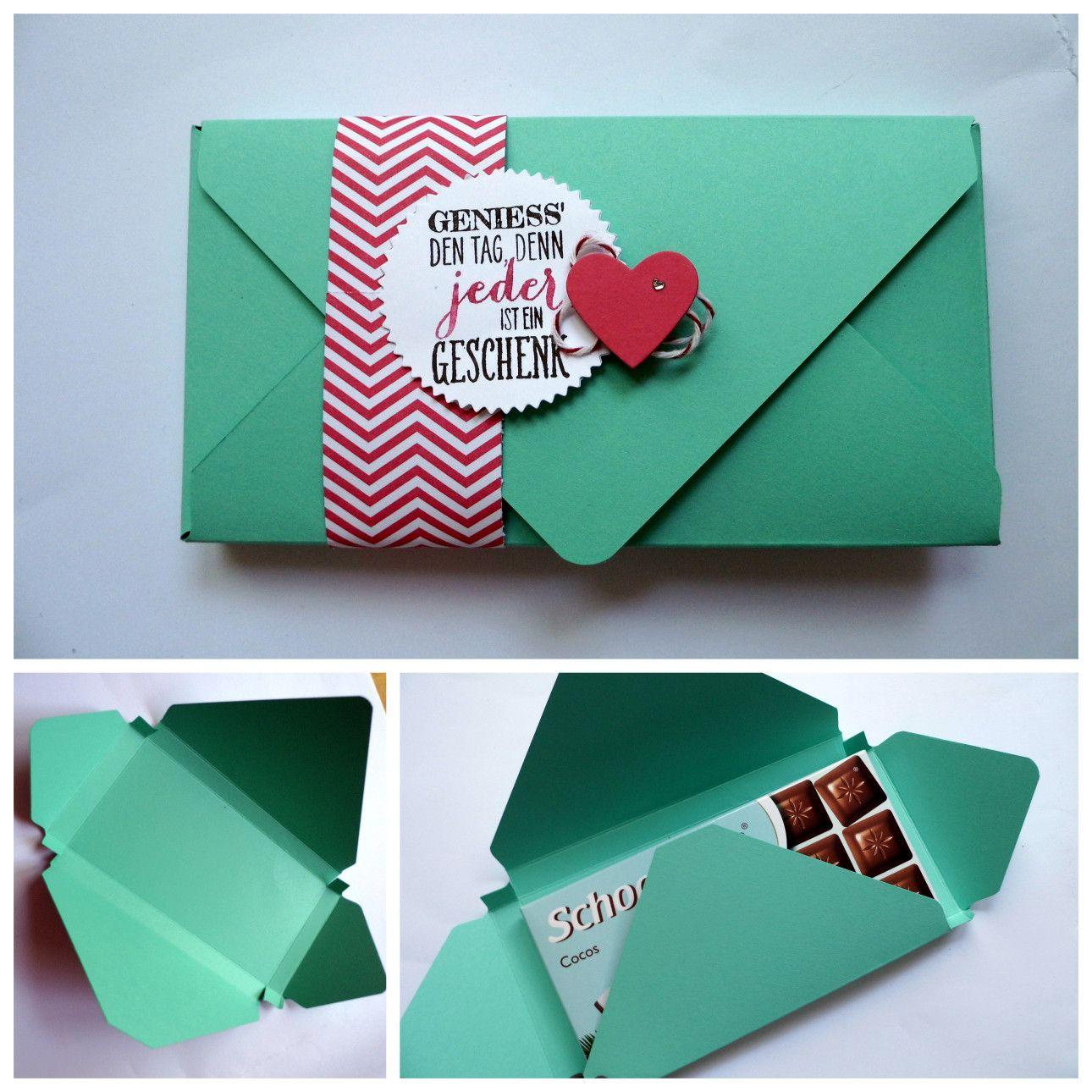 schokolade verpackung wimpeleien geschenke pinterest schokolade geschenk und geschenkideen. Black Bedroom Furniture Sets. Home Design Ideas