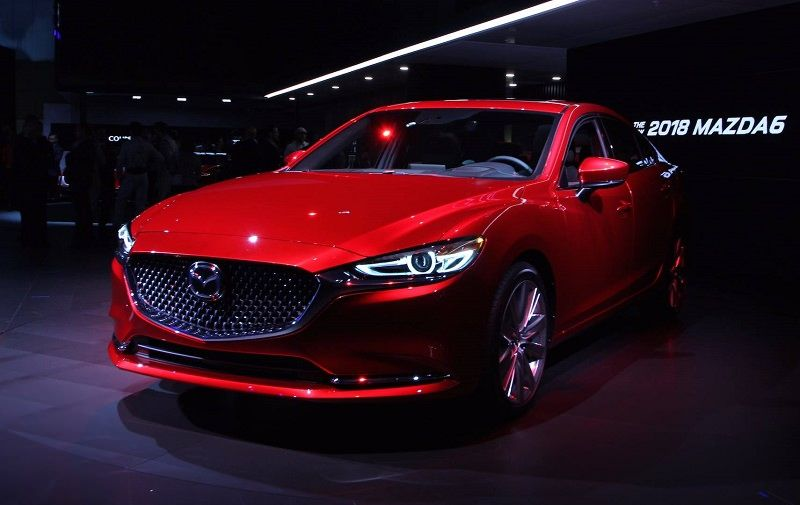 Mazda 6 2018 unveil from the Los Angeles Auto Show the Mazda 6 2018