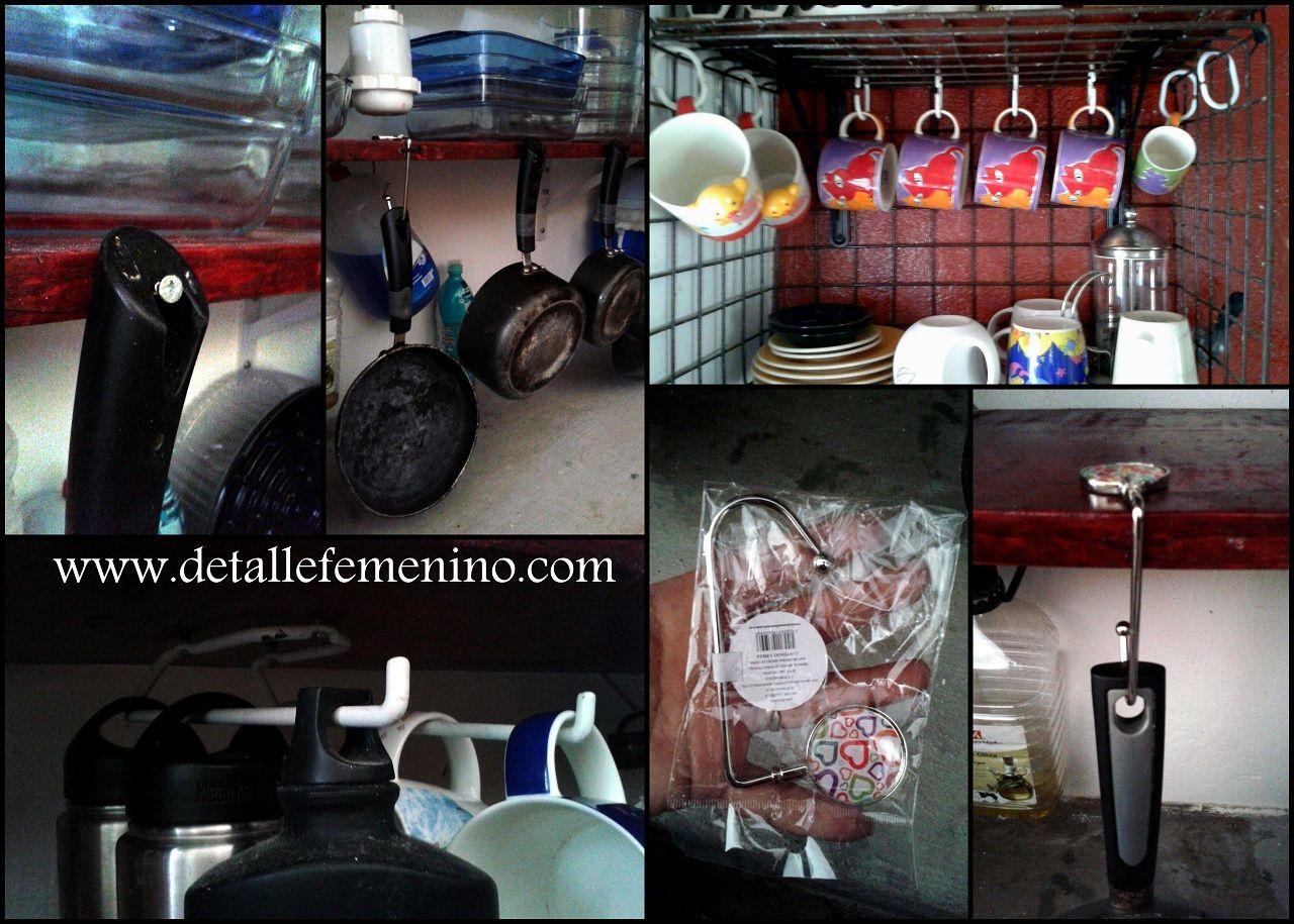 Ideas para organizar cocinas - Estantes de cocina ...