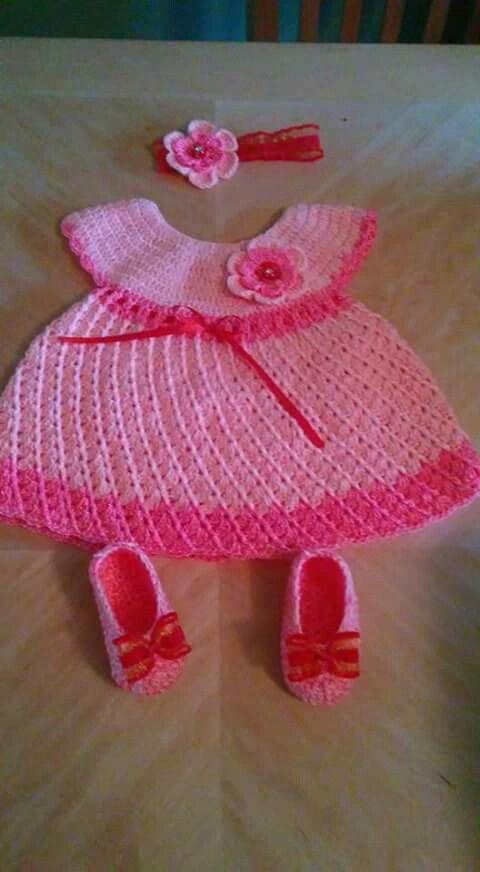 Pin de Pagwipa en ชุดเด็กน้อย   Pinterest   Vestido de bebé, Bebé y ...