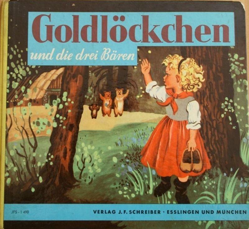 Bilderbuch Von Rose Celli Goldlockchen Und Die Drei Baren Kinderbucher Nostalgie Bilderbuch