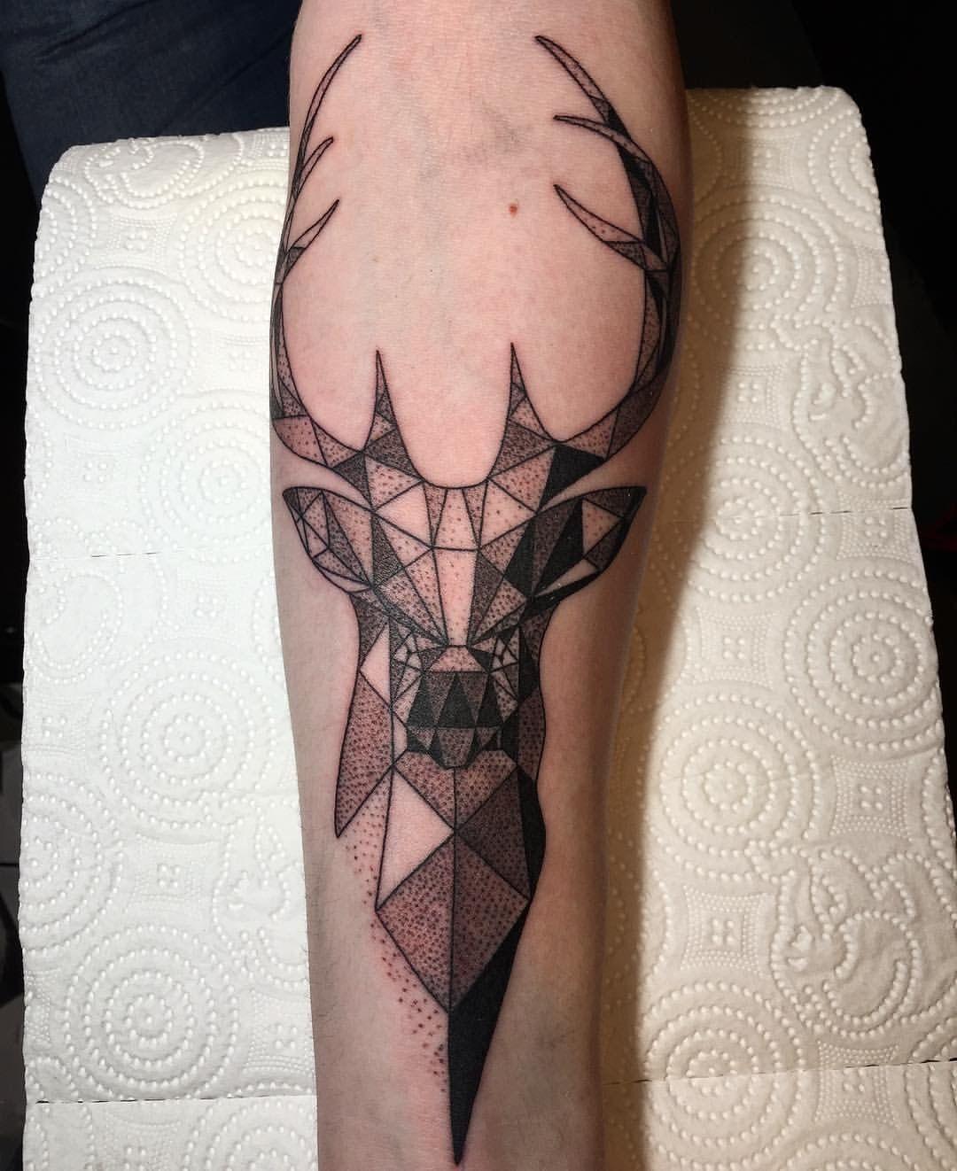 Waar Henna Tattoo Kopen: #tattoo #tattoos #ink #deer #brooklyntattoo So Cool