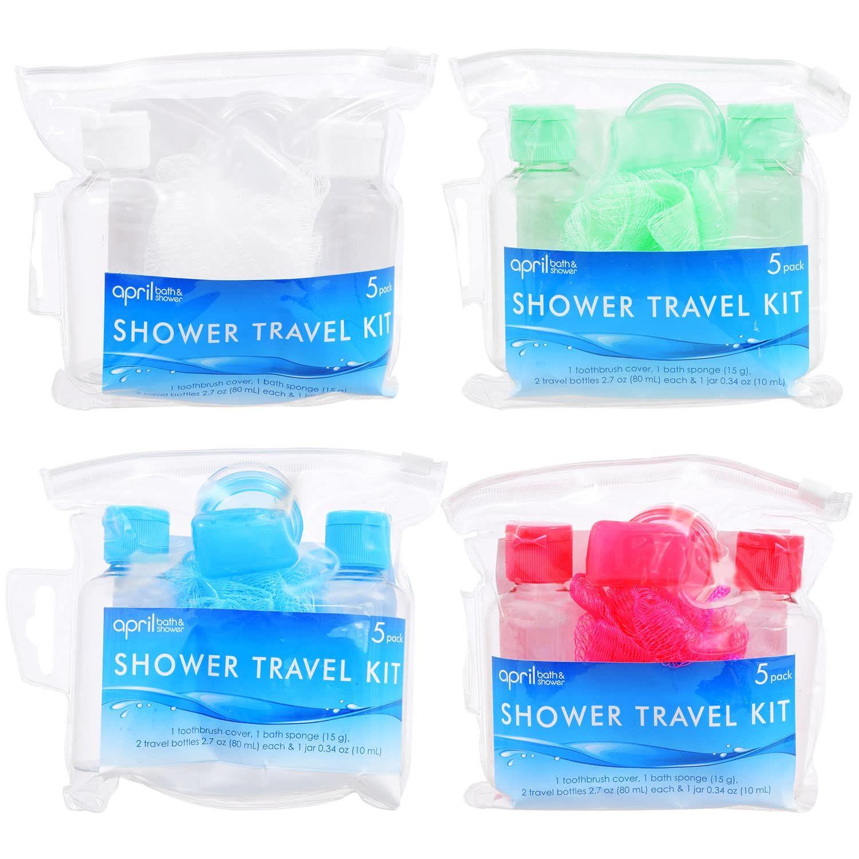 April Bath Shower Travel Kits 5 Pc Sets Gifts On A Budget
