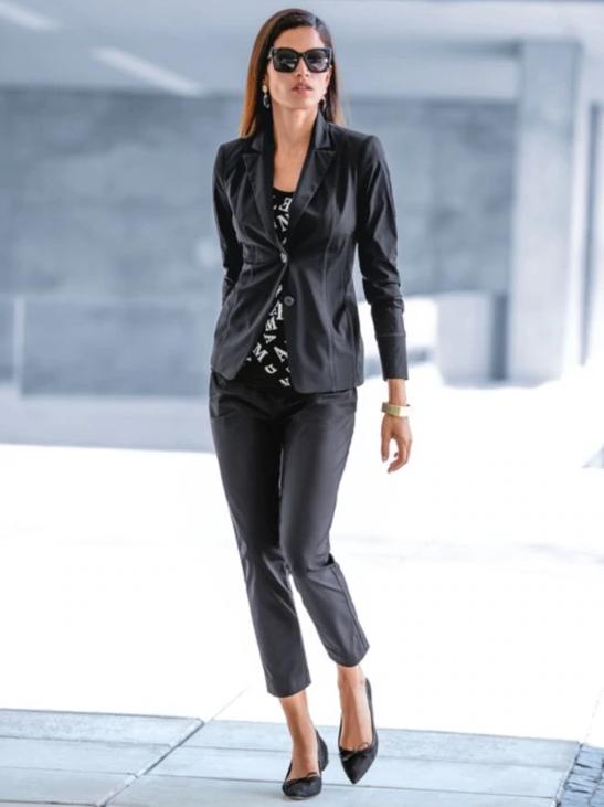 Schlanker Jerseyblazer l MADELEINE Mode | Women's Fashion in