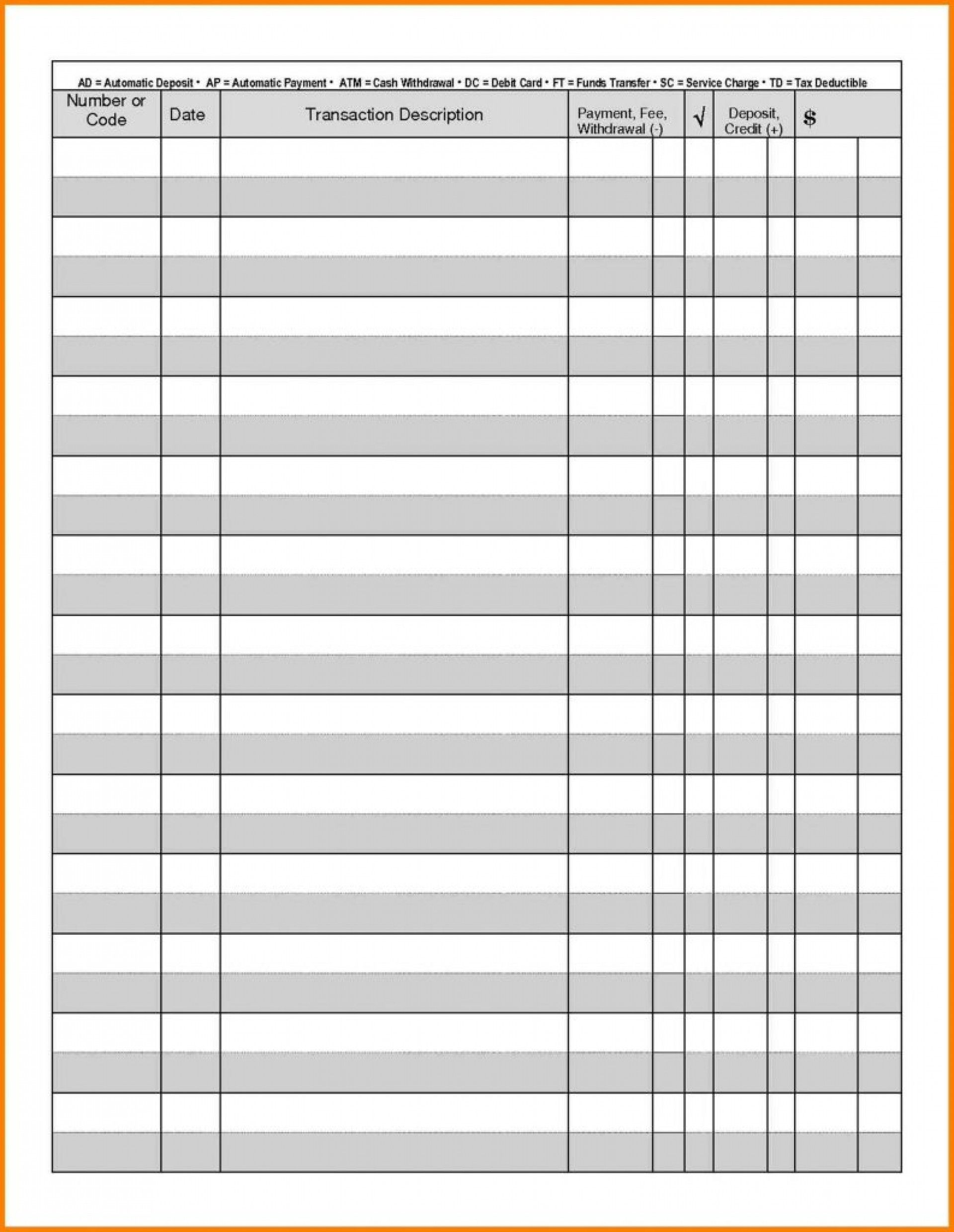 Downloadable Checkbook Registers New 021 Printable Checkbook Register Sheets Full Page Check Mavensocia Checkbook Register Printable Check Register Checkbook