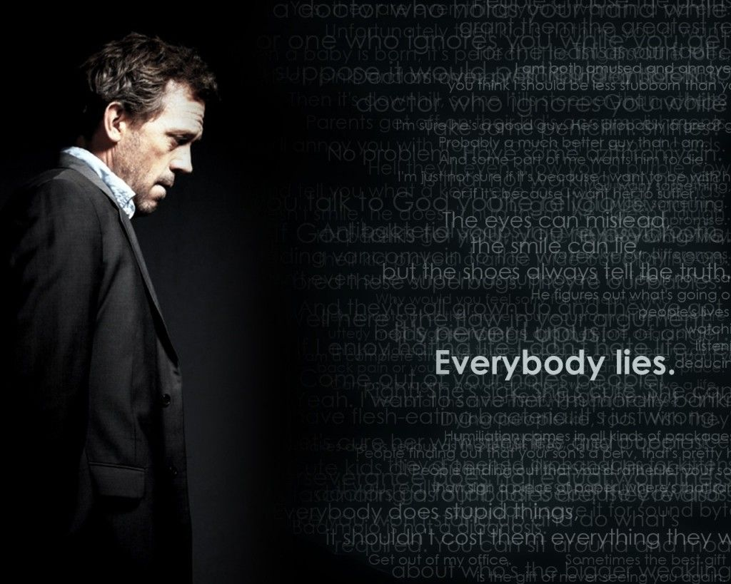 Quotes Hugh Laurie Gregory House Hd Wallpaper House Md