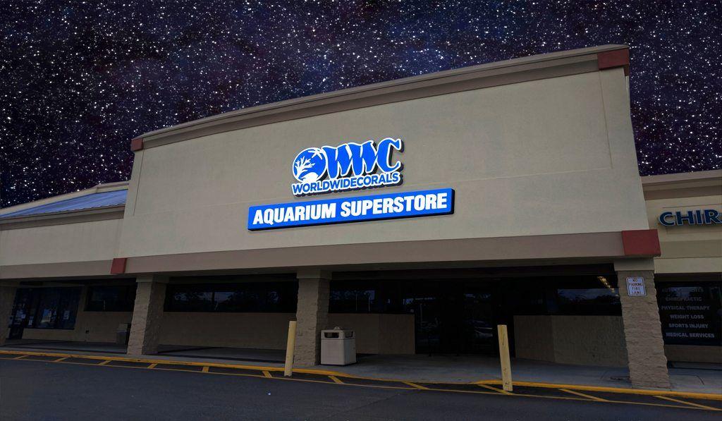 World Wide Corals NEW Aquarium Superstore Retail and Farm