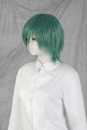 Layered Bob Wig Dark Green NMIGG-12