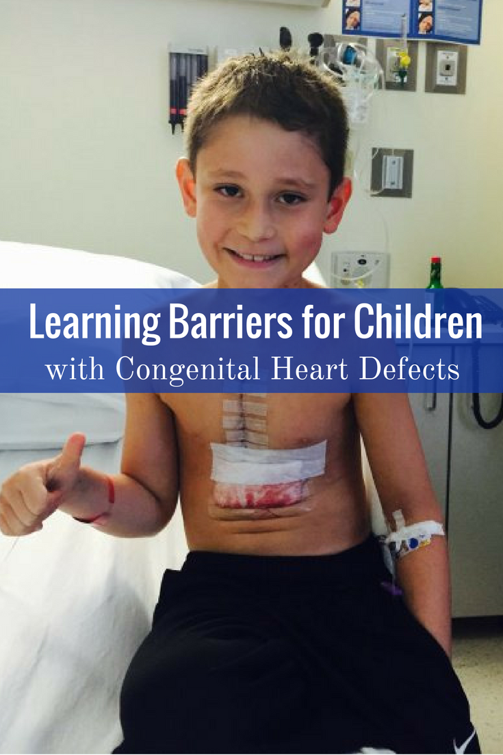 Learning Barriers for Children with Congenital Heart ...