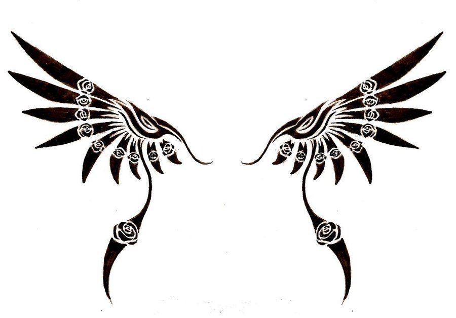 Tribal Wing by jaicy.deviantart.com on @deviantART | tats ...