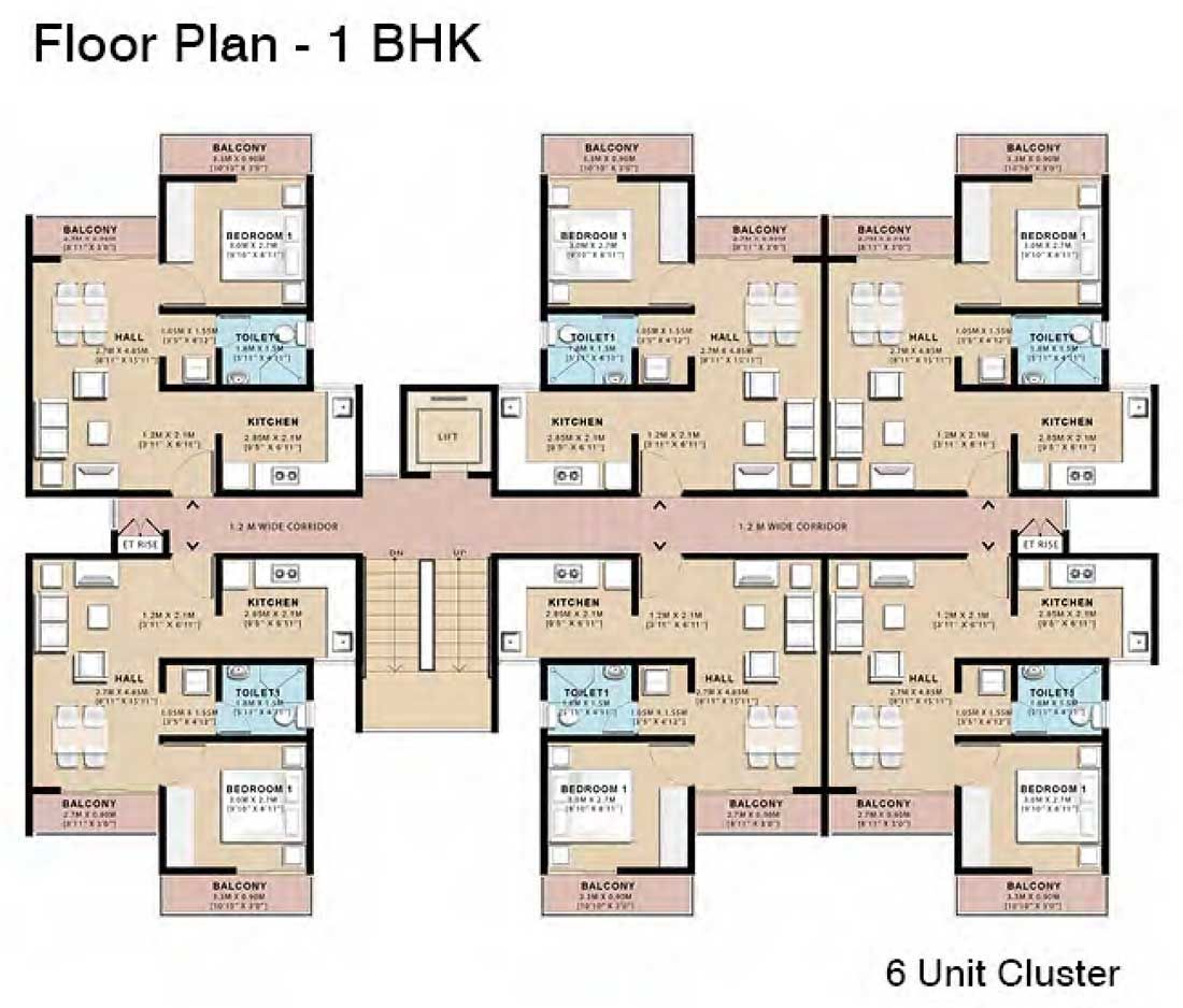 Low Cost Cluster Housing Floorplans Floor Plan Design Cluster House Apartment Floor Plans