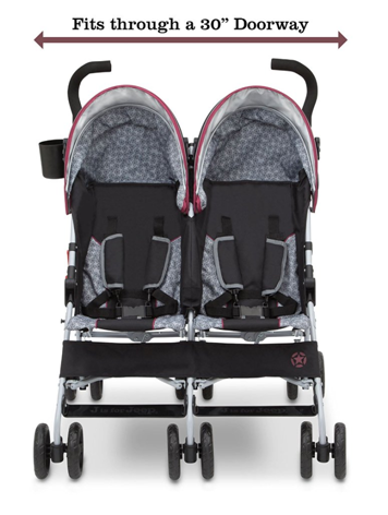 J Is For Jeep Brand Scout Double Stroller Review Easy Fit