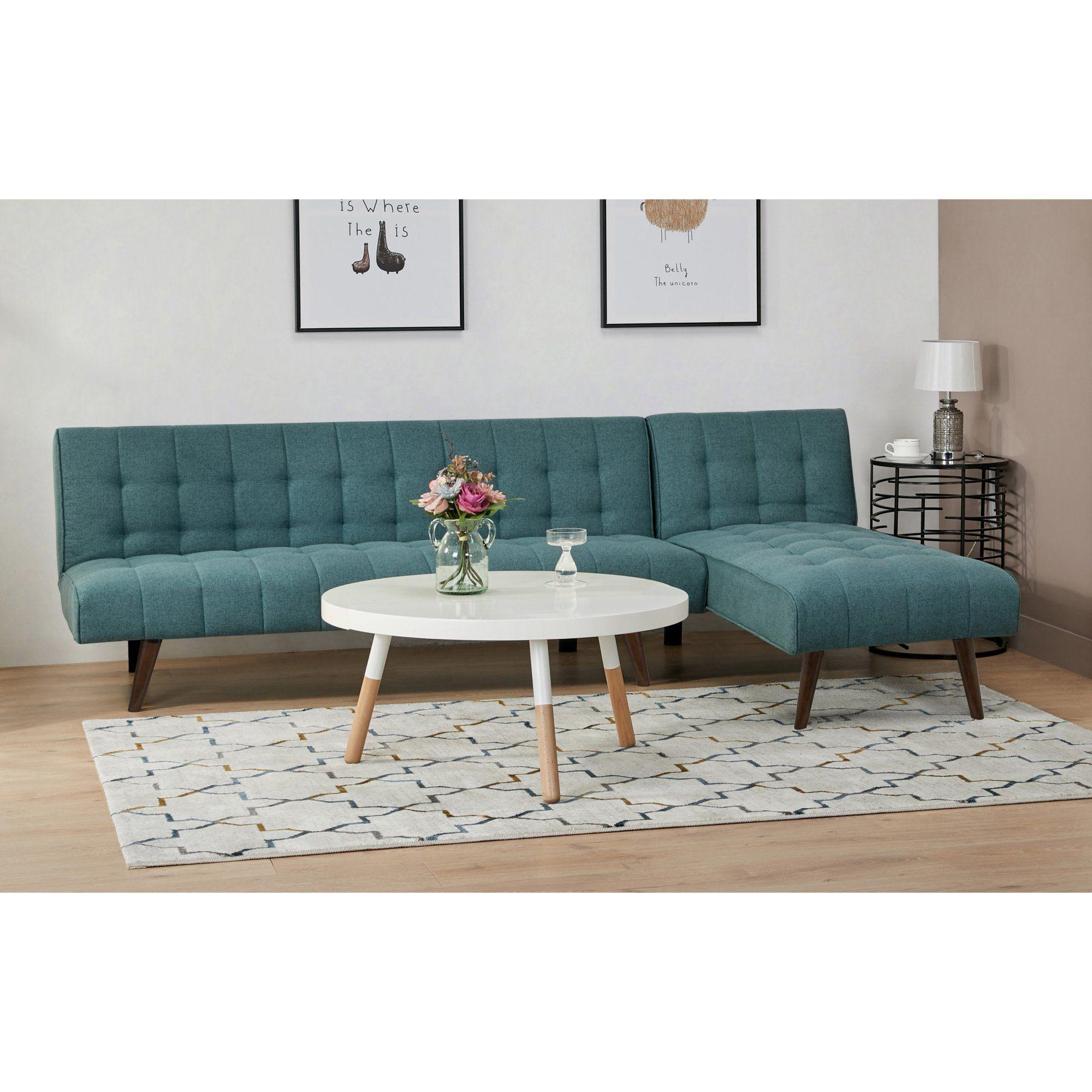 Gold Sparrow Shelton Convertible Sectional Sofa Bed ...