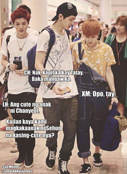C Exo Tagalog Meme All About Exo Memes Tagalog Exo Memes Exo