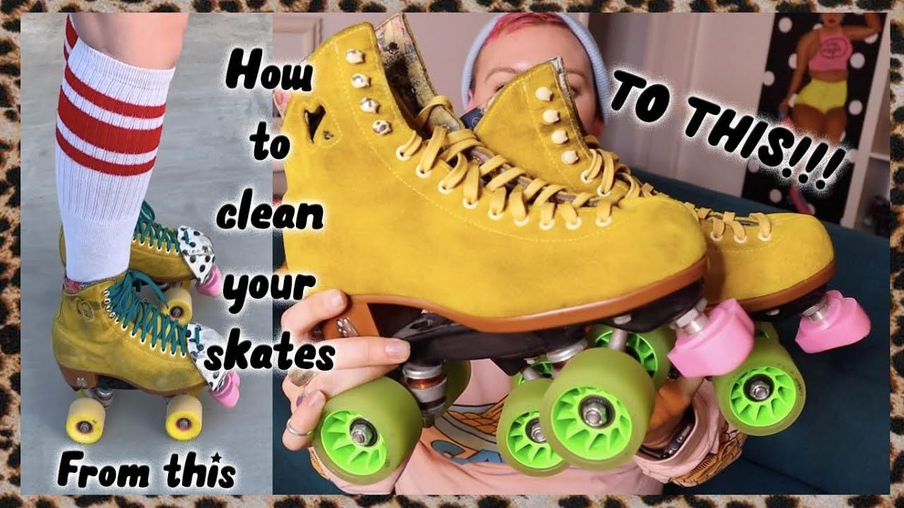 HOW TO CLEAN ALL THE PARTS OF YOUR ROLLER SKATES. Cleaning