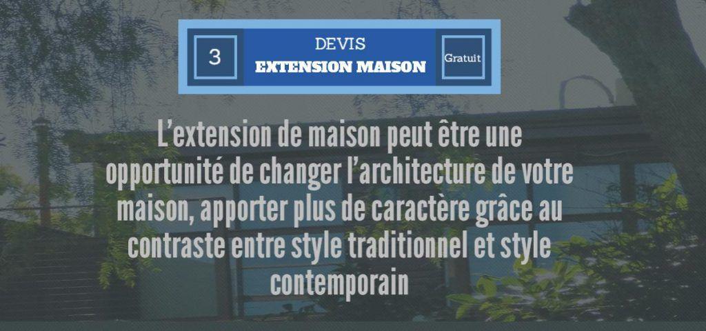 extensiond e maison architecture Travaux, extension, aménagement - Combien Coute Une Extension De Maison