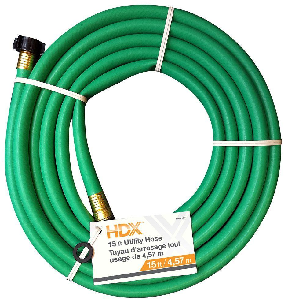 5/8 inch x 15 ft. Utility Hose Garden hose, Garden hose