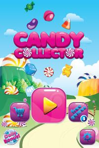 Candy Collector is fun, addictive game that will keep you playing for hours with 250 levels which keep getting more and more challenging as you play.  Each level has a mission, complete the mission by collecting the candies in the given time and avoid bombs, to pass the level.  Three Games In one: 1. Mission at top of each level, complete your mission 2. Get 3 Star by finishing your mission accurate. Collect only the right candy 3. Get Points by collecting as many candy as you can