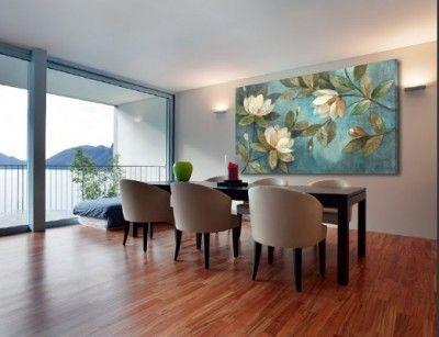 cuadros para decorar comedores modernos | HABITACIONES - Comedor ...
