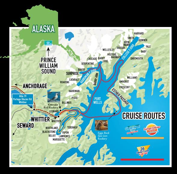 26 Glacier Cruise | Glacier Cruises | Phillips Cruises | Alaska ...