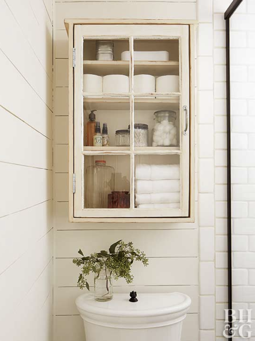 Bathroom Decor Mistakes - Over The Toilet Storage | The DIY Playbook