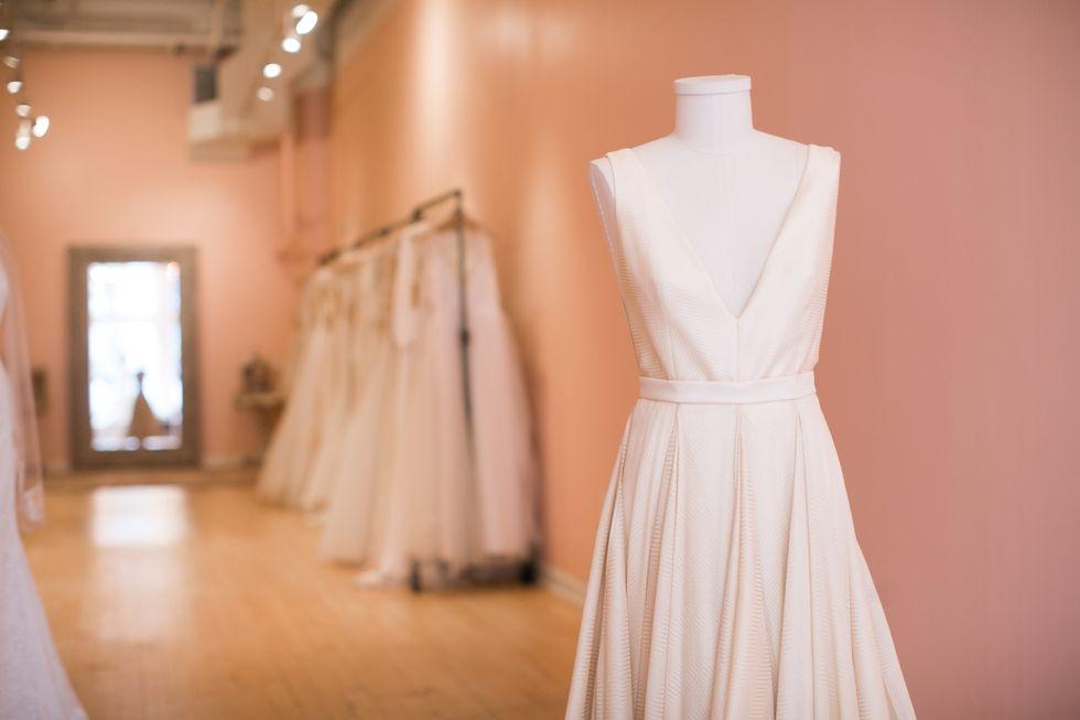 Azurite Carol Hannah Bridal Lovely Bridal Old City - Wedding Dress Shops Philadelphia