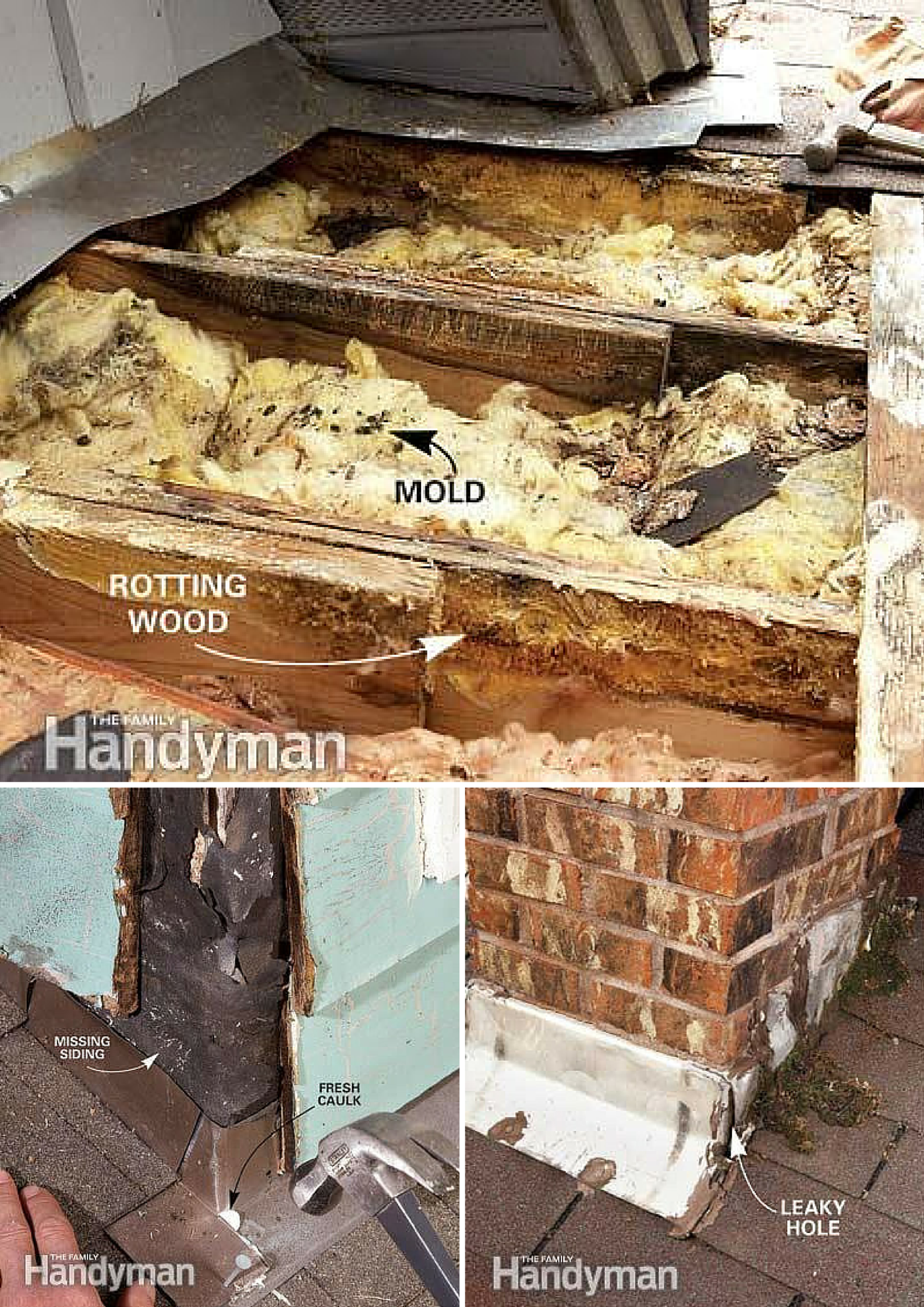 12 Roof Repair Tips Find And Fix A Leaking Roof Flat