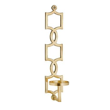 Sadie Gold Wall Sconce Gold Wall Sconce Candle Wall Sconces