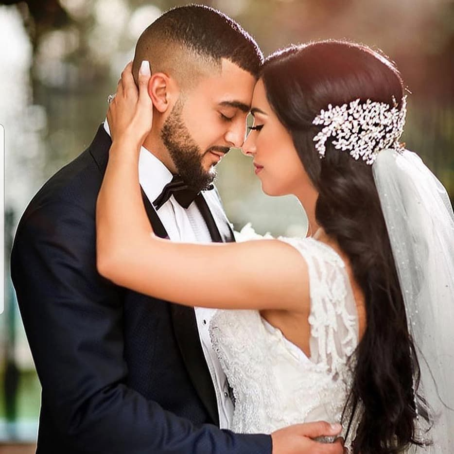 Wear your wedding dress on your anniversary  Our gorgeous Canadian bride Nazreen and her handsome groom