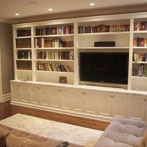 Living Room Media Unittyler Merson Like And Repinnoelito Alluring Living Room Built Ins Inspiration Design