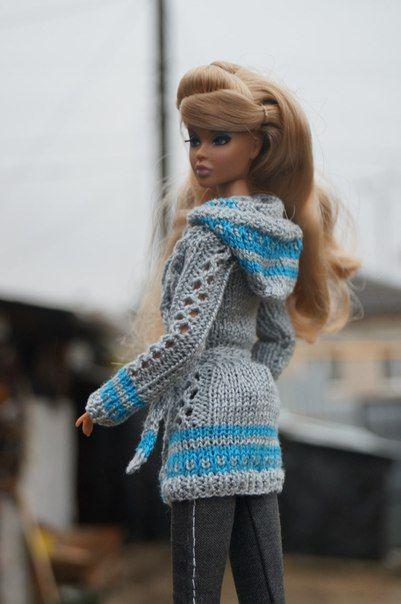 Elizaveta Chemeris | VK | haken en breien voor barbies | Pinterest ...