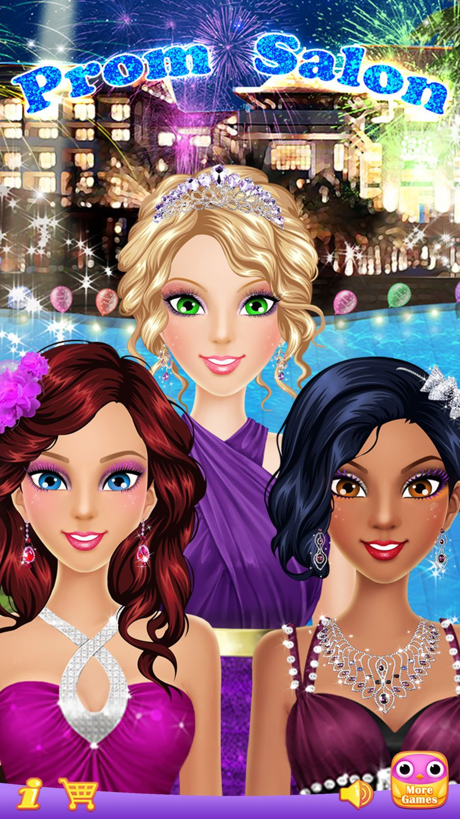 Prom Salon鈩 20 Girls Makeup Dressup And Makeover Games Tech Libii Games Family Girls Makeup Attractive Girls Girl