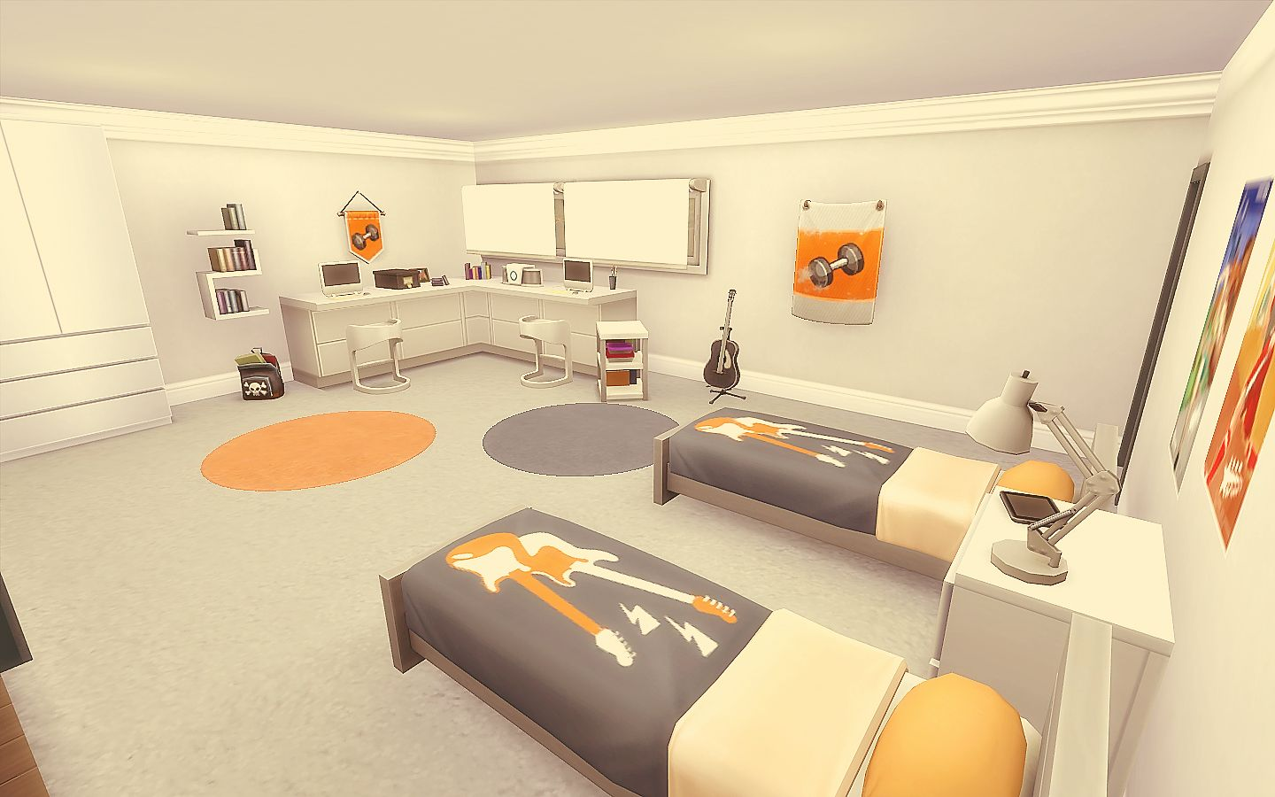 Modern house the sims 4 download