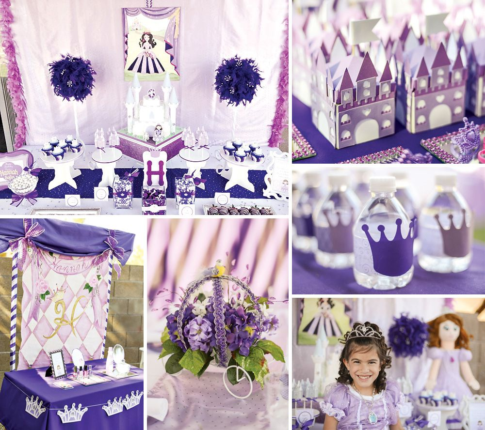 A royally sweet Purple Sofia the First Princess Party by Nancy of @A to Zebra Celebrations on the blog today! http://hwtm.me/10Bugok