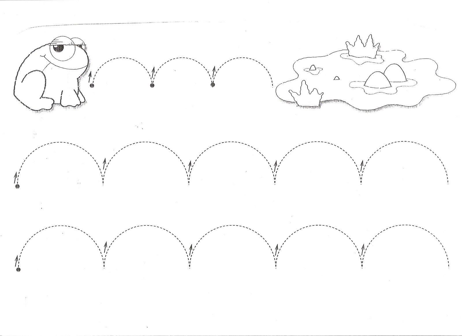 Colorear Dibujos Ninos 3 Anos: Grafomotricidad, Trazos, Fichas Infantil