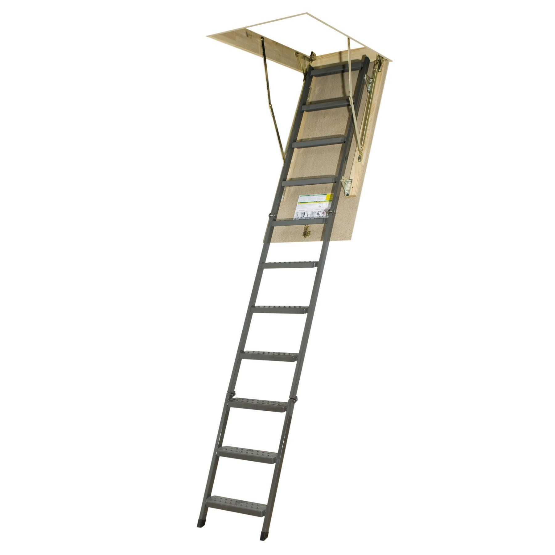 Fakro 101 ft steel attic ladder 66862 attic ladder