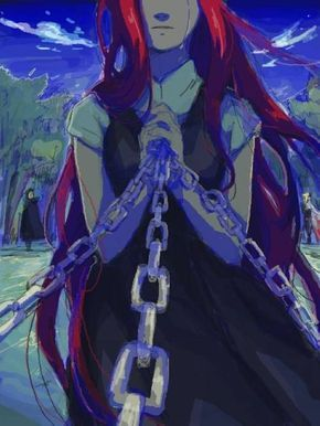 Kushina One Of The Best Art Ever Seen From Kushina With Obito And Minato In The Background Anime Naruto Naruto Characters Naruto