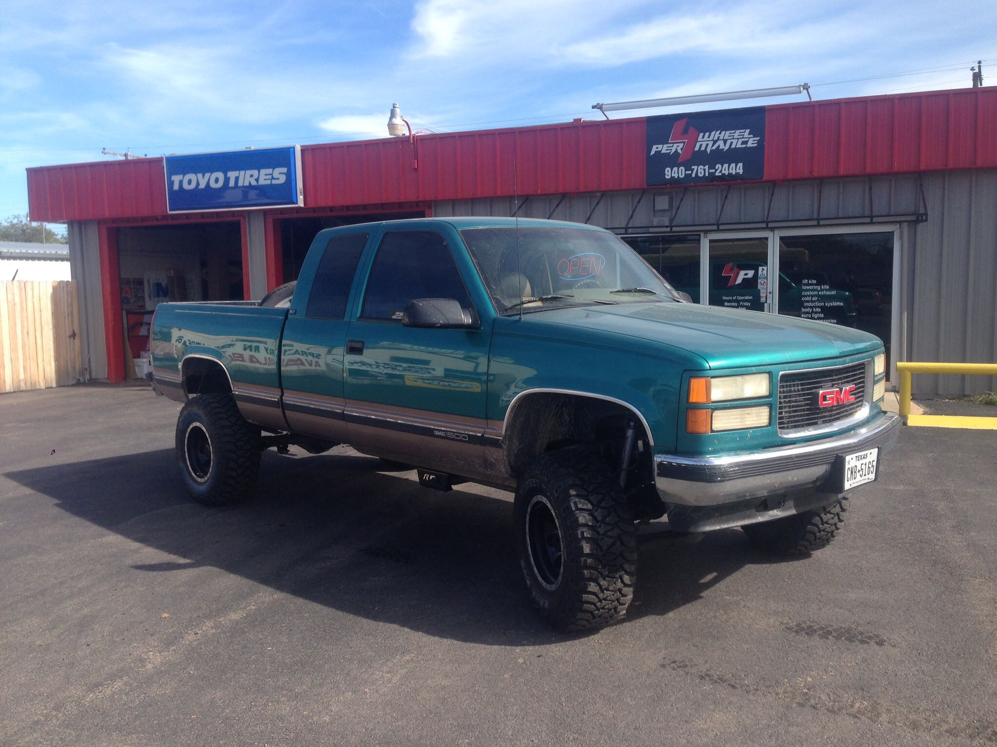 1995 Gmc 1500 Z71 6 Rough Country Lift 16 Mickey Thompson Wheels Custom Chevy Trucks 33 Tires
