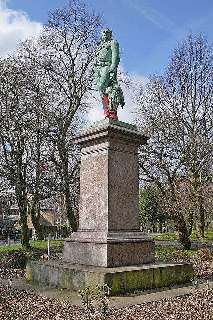 Duke of Wellington's statue, Woodhouse Moor, Leeds